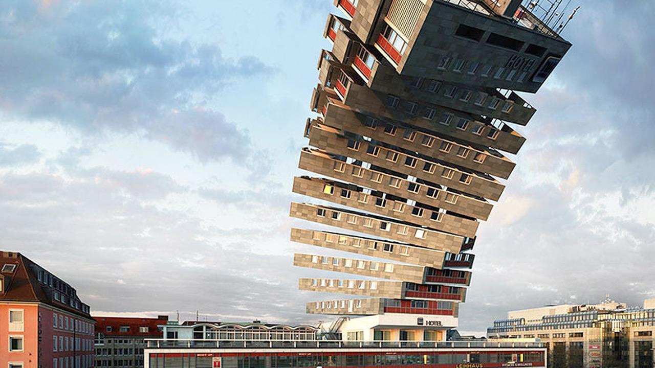 Bending Buildings