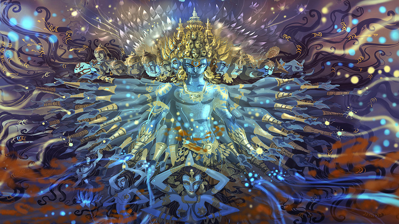 Abhishek Singh: Redefining Classical Religous-Art